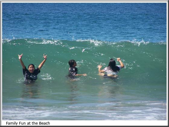 fun day at the beach essay