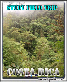 Study field trip to Costa Rica