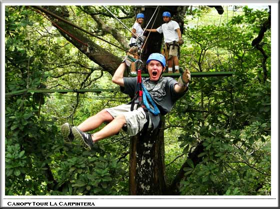 Costa Rica One day Tours. Canopy Tour & Costa Rica Canopy tourDailyOne Day HalfFull trip