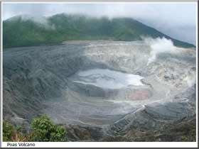 Poas Volcanoe