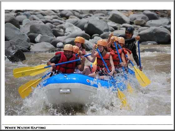 White Water Rafting Sarapiqui
