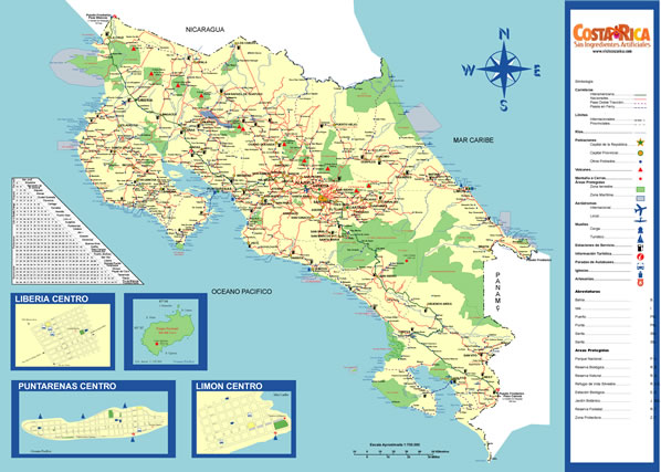 Costa Rica Vacations Travel Group Tours Family Trips – Tourist Map Of Costa Rica